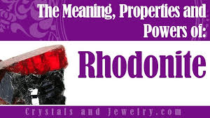 rhodonite meaning and best uses a complete guide