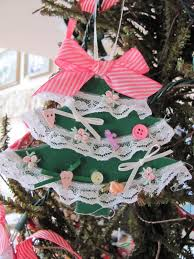 christmas tree craft crafts a la mode