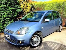 1 prev owner 2007 ford fiesta ghia manual 5 door blue 1 6 petrol