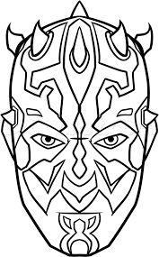 how to draw darth maul easy step by step star wars characters