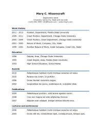 simple resume template jospar