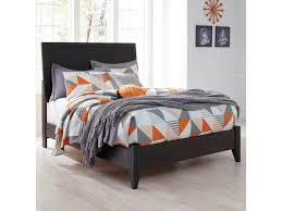 Low Profile Furniture by Signature Design By Ashley Daltori Queen Panel Bed With Low