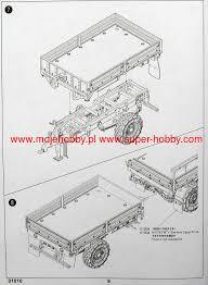 m1082 lmtv trailer trumpeter 01010