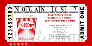 free printable movie ticket template movie ticket birthday