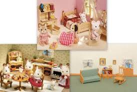 Calico Critters Living Room by Calico Critters Kitchen Sister U0027s Bedroom Living Room 3 Furniture
