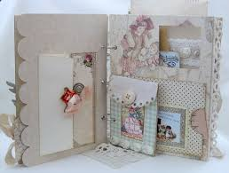 photo albums with pockets embrace serendipity baby boy girl accordion zig zag mini albums