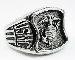 custom steel rings images Marine corps rings rcr original us marine corps engravable ring jpg