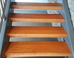 Laminate Floors On Stairs Thick Wood Tread
