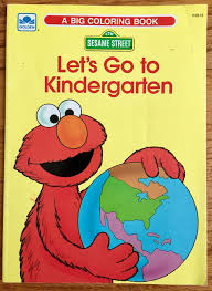 1980s sesame street coloring book vintage coloring books