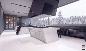 Futuristic Design Kitchen Design By M1tos