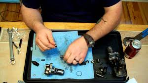 bosch pfr type diesel injection pump teardown youtube