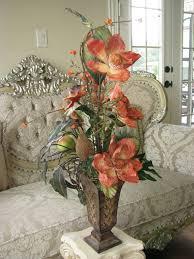 dining room table flower arrangements best 25 silk floral arrangements ideas on silk flower