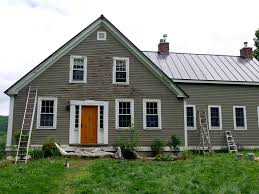 classic canadian paint colors for house exterior with natural wood