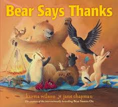 project and books for giving thanks with for thanksgiving