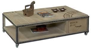 Table Basse by Table Basse Rectangulaire 1 Tiroir Dk11 Tenons Mortaises