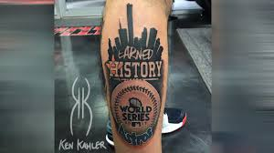 astros player looking for fans with world series tattoos