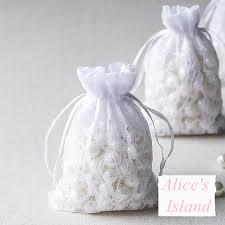 favor bags for wedding online shop 50 pcs lace candy bag wedding candy bags wedding