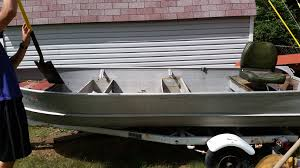 16 u0027 aluminum boat restoration mods ohio game fishing your ohio