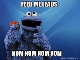 Nom Nom Nom Meme - meme creator feed me leads nom nom nom nom meme generator at