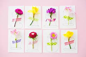 handmade cards pretty 3d flower handmade cards