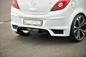 opel corsa 2009 new rieger bodykits for astra and corsa