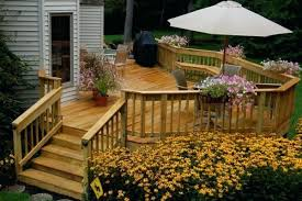 Landscape Deck Patio Designer Landscape Around Deck Deck Landscaping Landscape And Deck Design
