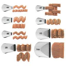 Wilton Basketweave Decorating Tips 44 45 46 47 48 1D 2B