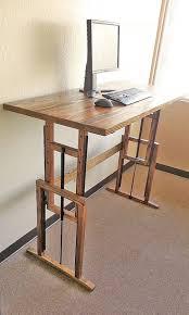 Best Sit Stand Desk Best 25 Diy Standing Desk Ideas On Pinterest Desks With Regard