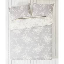 Grey And White Bedding Sets Buy Collection Lottie Grey And White Bedding Set Double At Argos