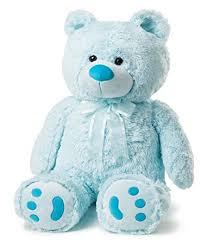 big teddy big teddy blue toys