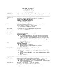 Nurse Assistant Resume Sample by Best Medical Assistant Resume Examples