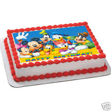 mickey mouse birthday cakes on cute mickey mouse clubhouse
