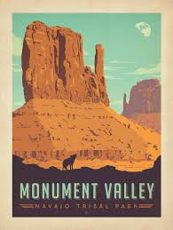 Monument Valley Utah Map by Anderson Design Group Studio Monument Valley Navajo Tribal Park