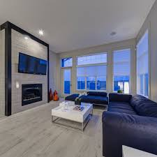 Pictures Of Laminate Flooring In Living Rooms Living Room Modern Space With Large Windows Silver Oyster Tiled