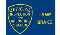 brake and light inspection locations brake and light