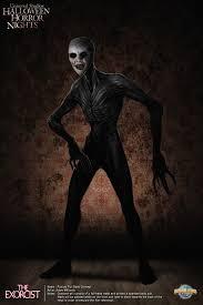 halloween horror nights the exorcist artstation pazuzu redesign adam milicevic