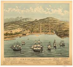Map Of San Francisco Ca by Old Maps Of California San Francisco