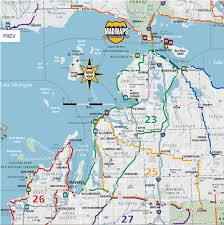 wisconsin scenic drives map road maps with back roads michigan scenic road trips of
