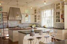 painting kitchen cabinets white for elegance and luxury feel