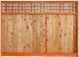 wood fence panels with lattice top kashiori com wooden sofa