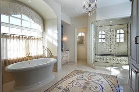 cool mosaic bathroom floor tile design patterns ideas