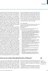 Resume Example Singapore by How Can We Reduce The Global Burden Of Disease The Lancet