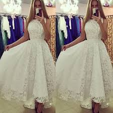 amazing women formal long lace dress prom evening party cocktail