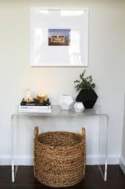 Corner Entryway Table Simple Entryway Table Pinteres