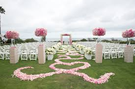 light pink aisle runner wedding ideas beautiful ceremony floral aisle runner designs