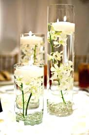 centerpieces with candles table centerpieces candles wedding impossibly floating