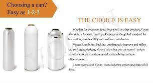 cost of alum vocan aluminium material soda aerosol use cans vocanpacking