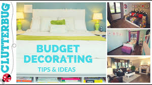 home decor ideas on a budget blog home decorating tips u0026 ideas on a budget youtube