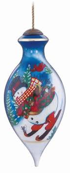 ne qwa painted tree ornaments l central