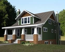 craftsman style house plans narrow lot house design plans